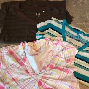 SO Medium V Neck shirt bundle